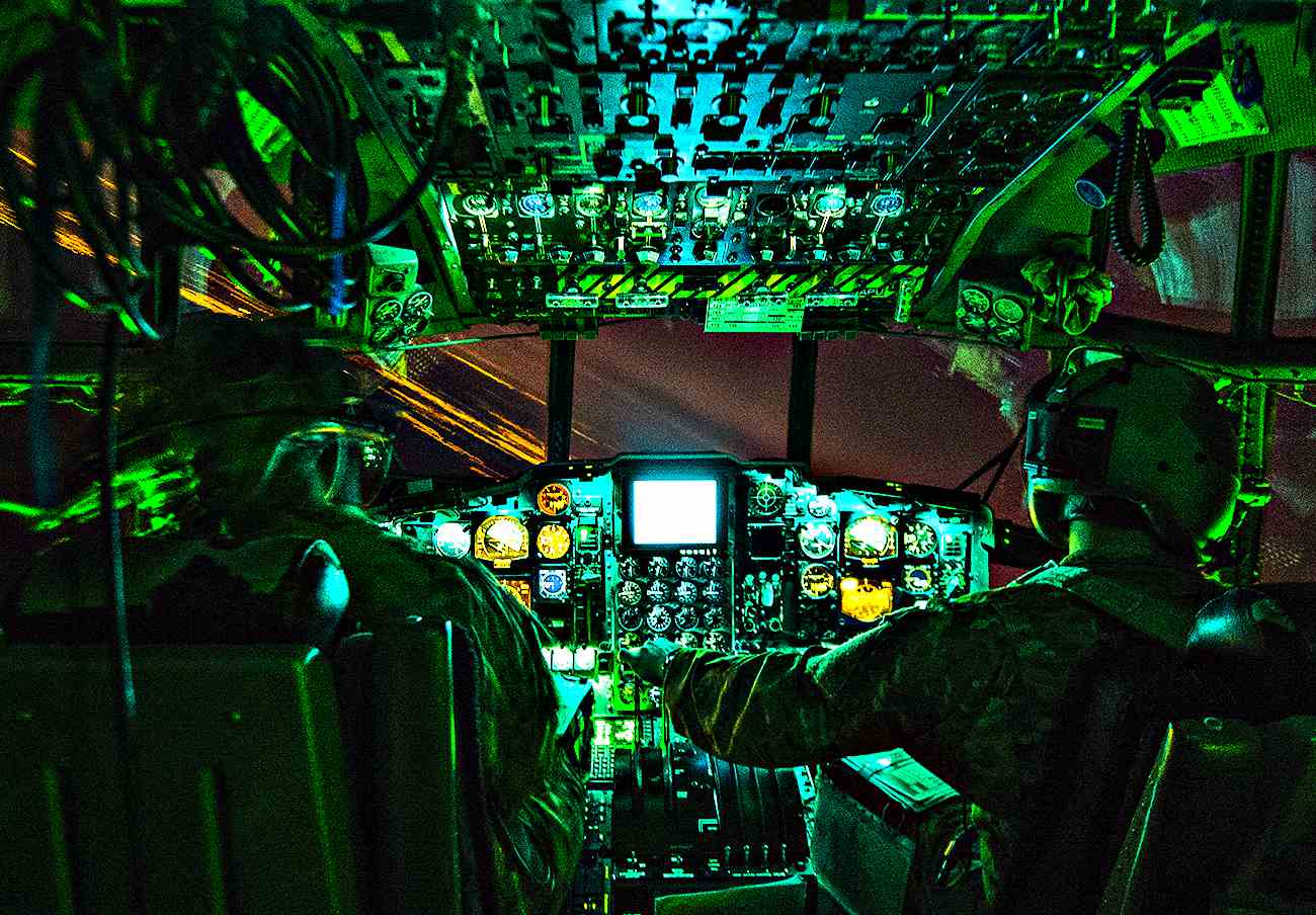 Fighter Jet Cockpit, A-130 cockpit