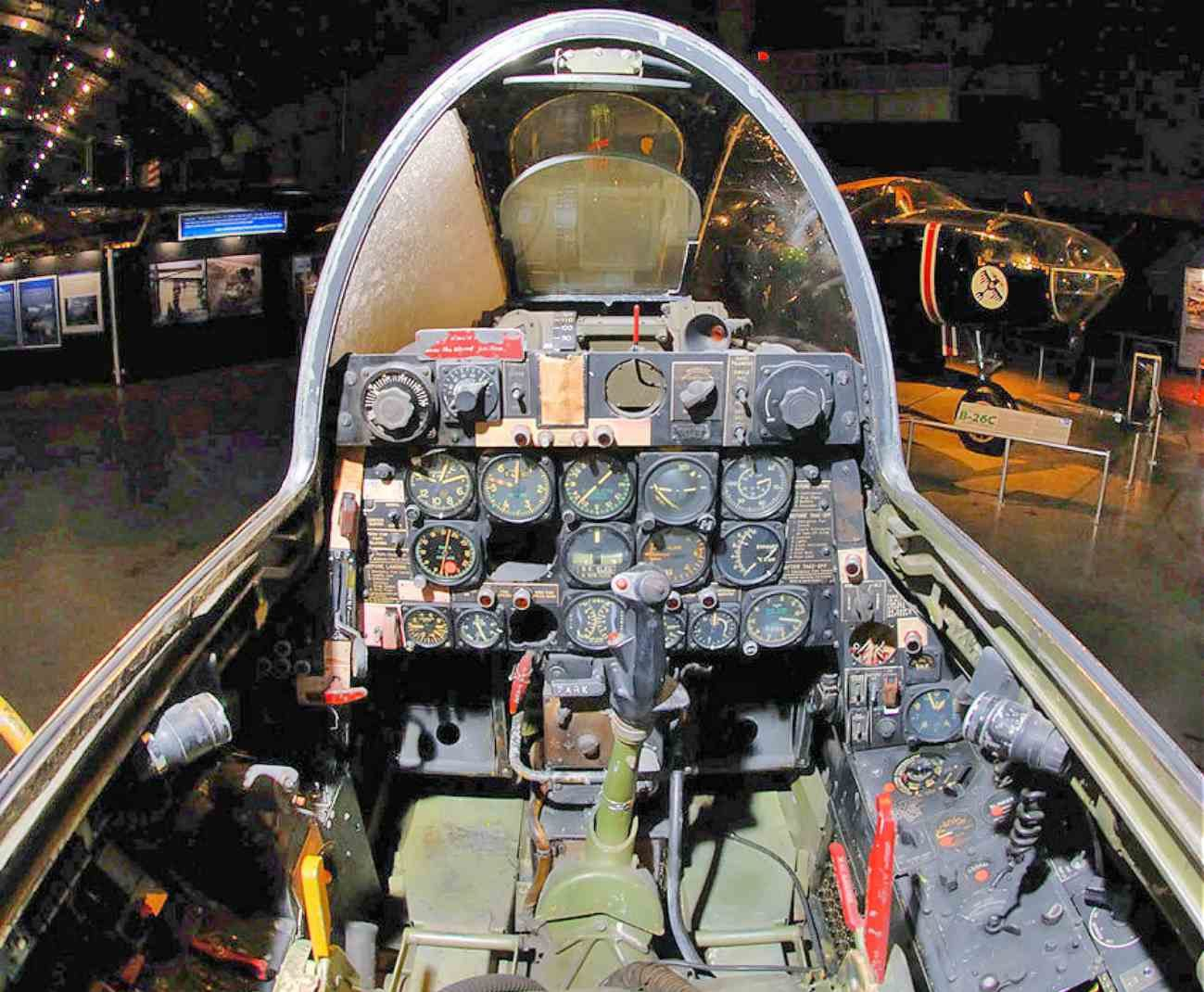 Fighter Jet Cockpit Images_F-84 Cockpit | Military Machine
