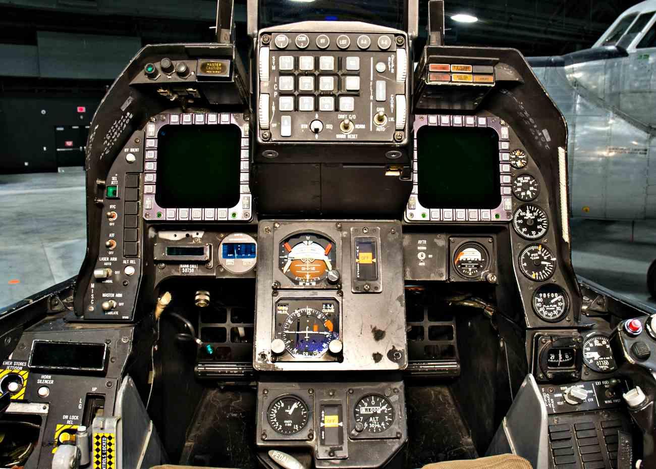 Fighter Jet Cockpit_A-16 cockpit