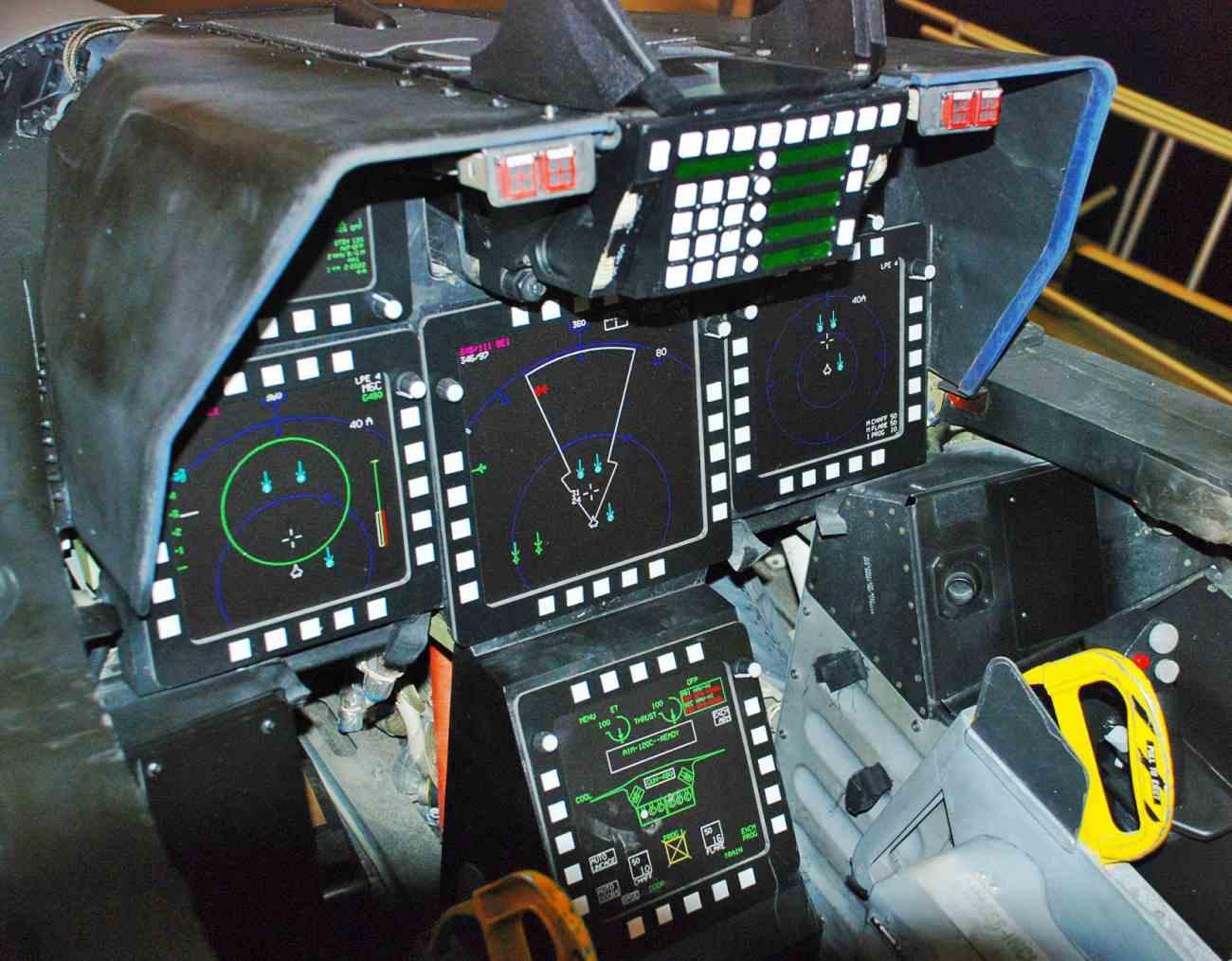 Fighter Jet Cockpit_F-22 Cockpit