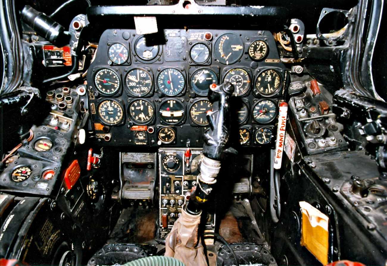 Fighter Jet Cockpit_F-84 Cockpit