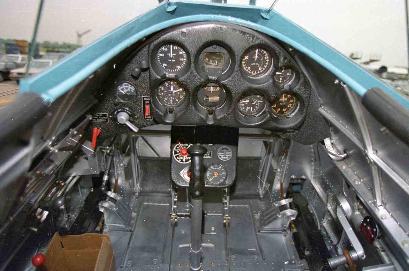 Fighter Jet Cockpit_P-26 Cockpit