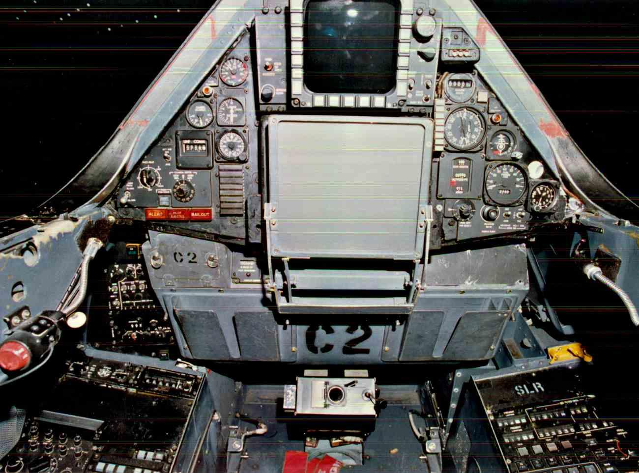 Fighter Jet Cockpit_SR-71 Cockpit