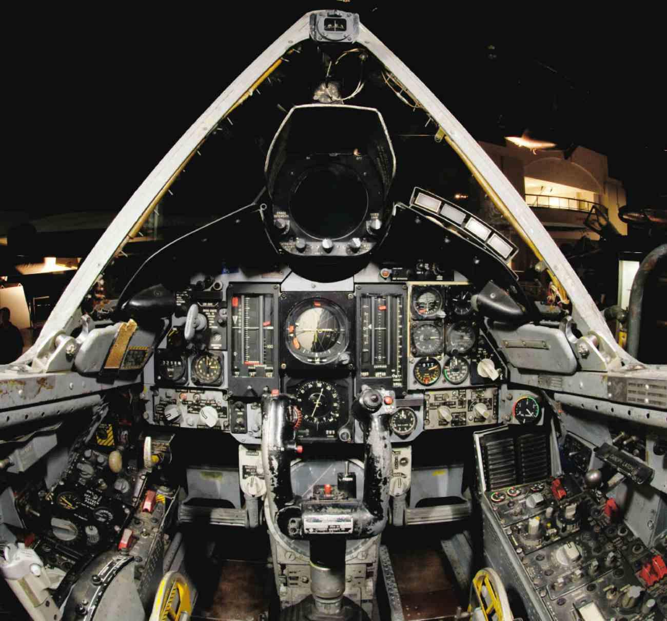 Fighter Jet cockpit, F-106 cockpit