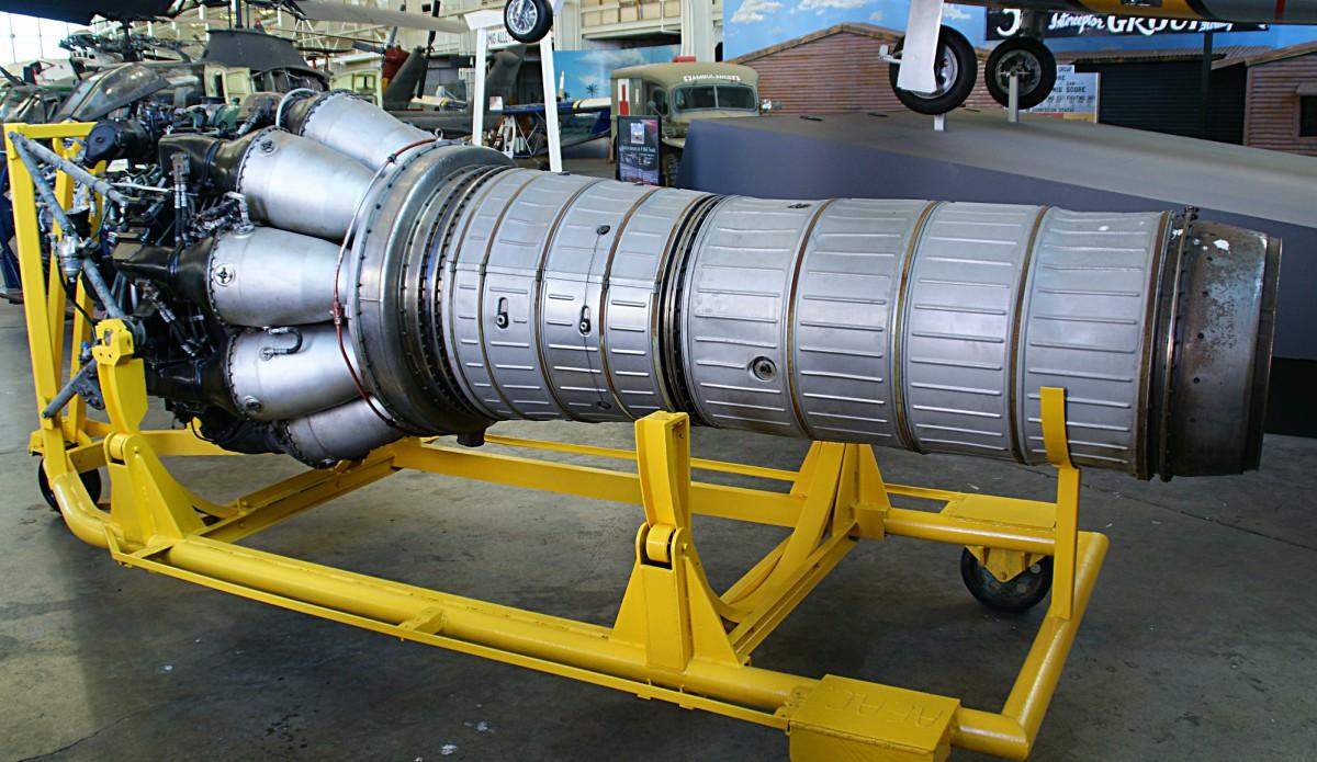 MiG-15 VK-1 jet engine