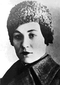 Mariya Oktyabrskaya portrait