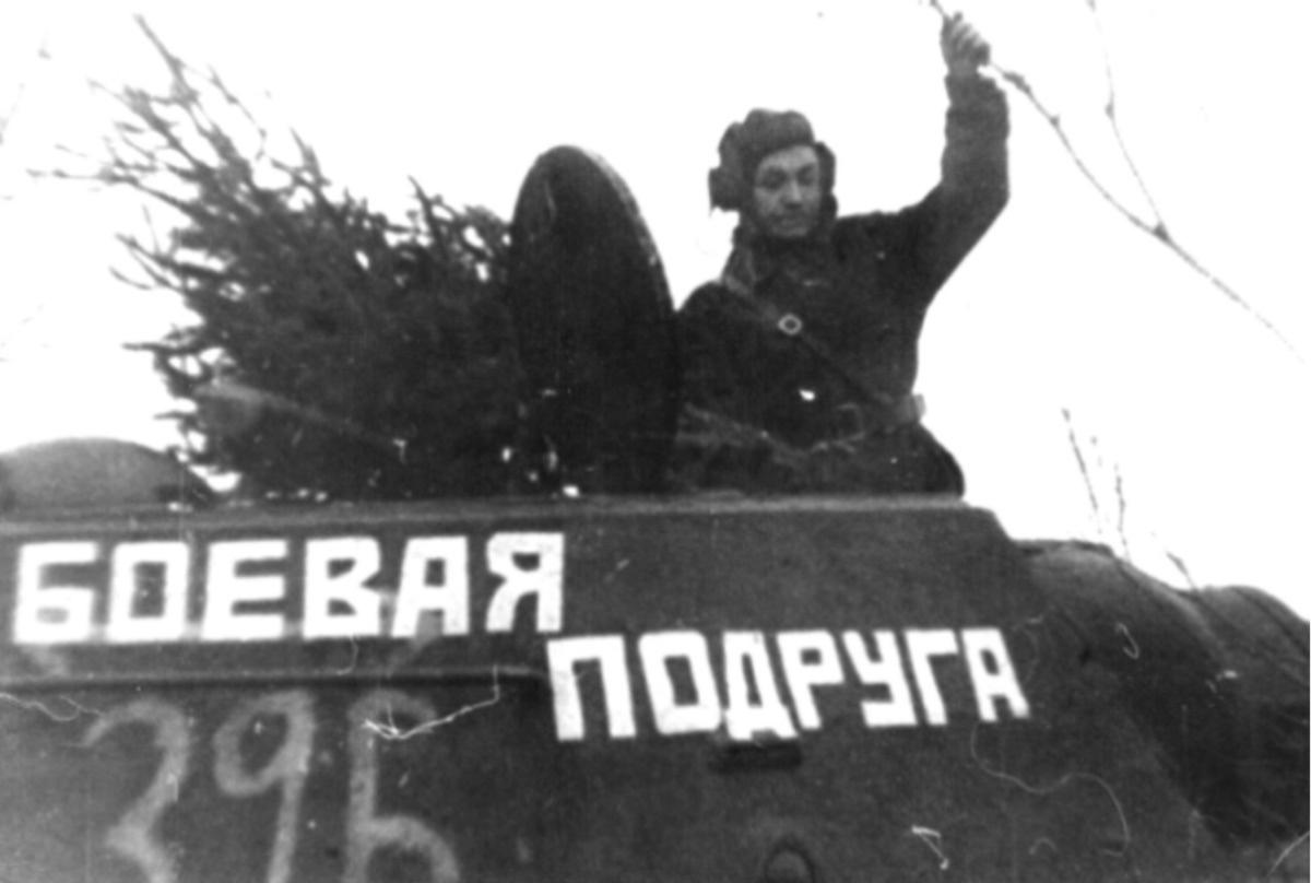 Mariya Oktyabrskaya and her T-34
