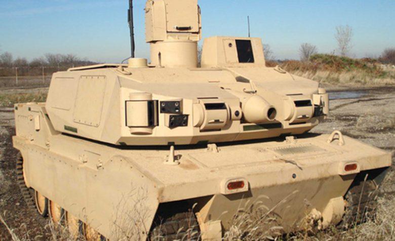 Black Knight Tank close up