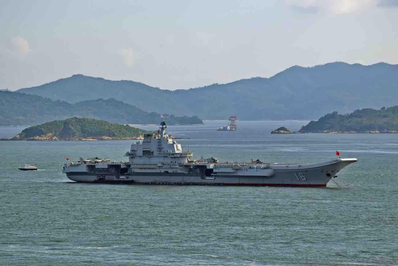 Aircraft Carrier Liaoning CV-16
