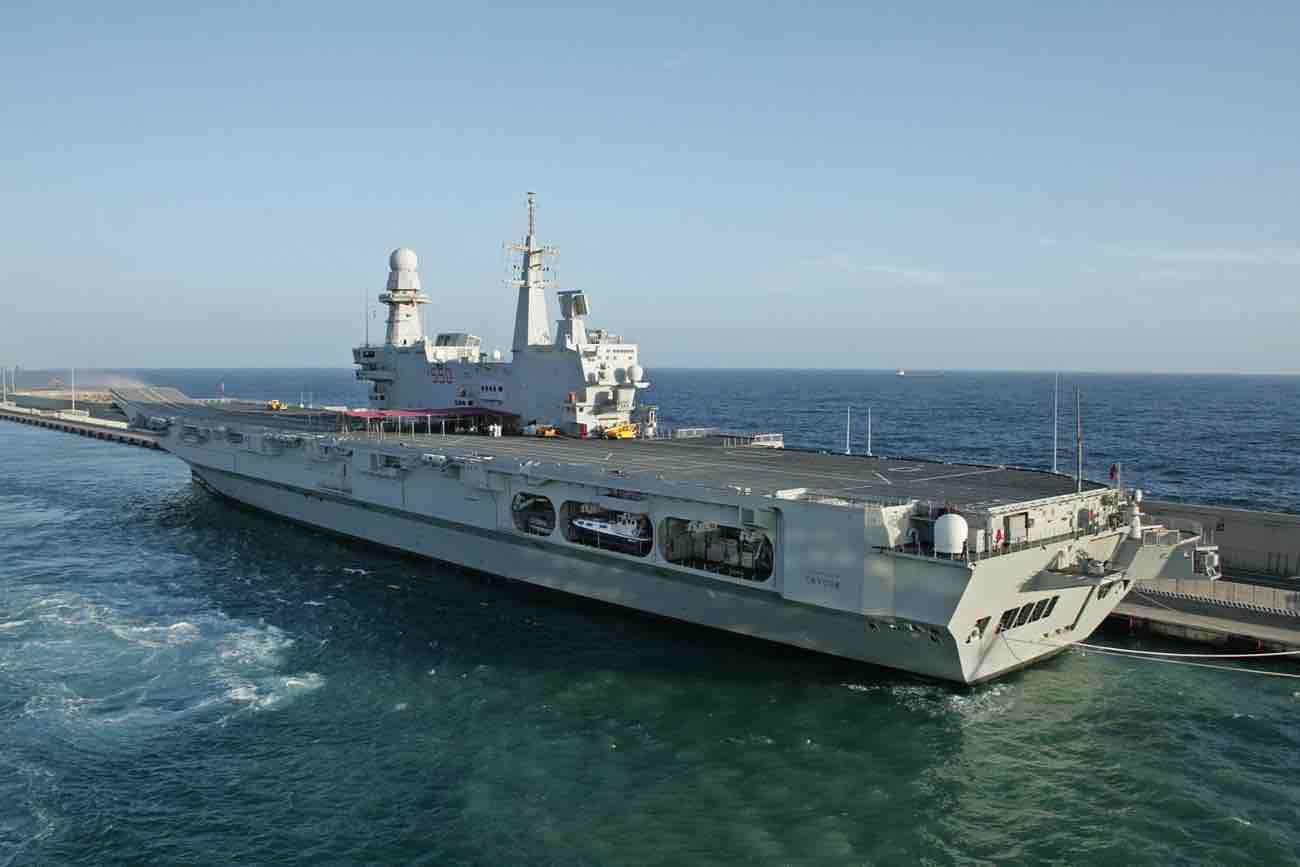 Cavour, Italian aircraft carrier