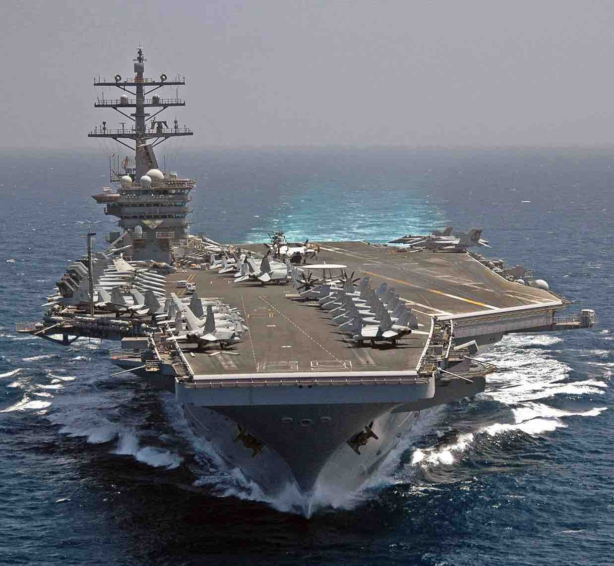 USS Dwight D Eisenhower Active Aircraft Carriers.