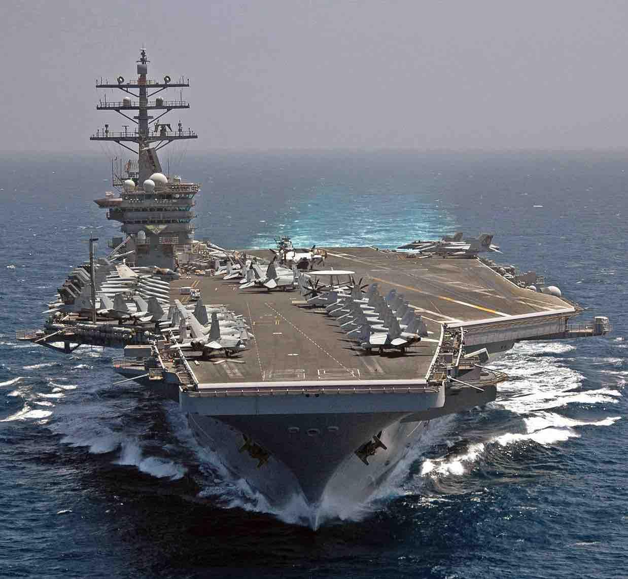 USS Dwight D Eisenhower Active Aircraft Carriers.