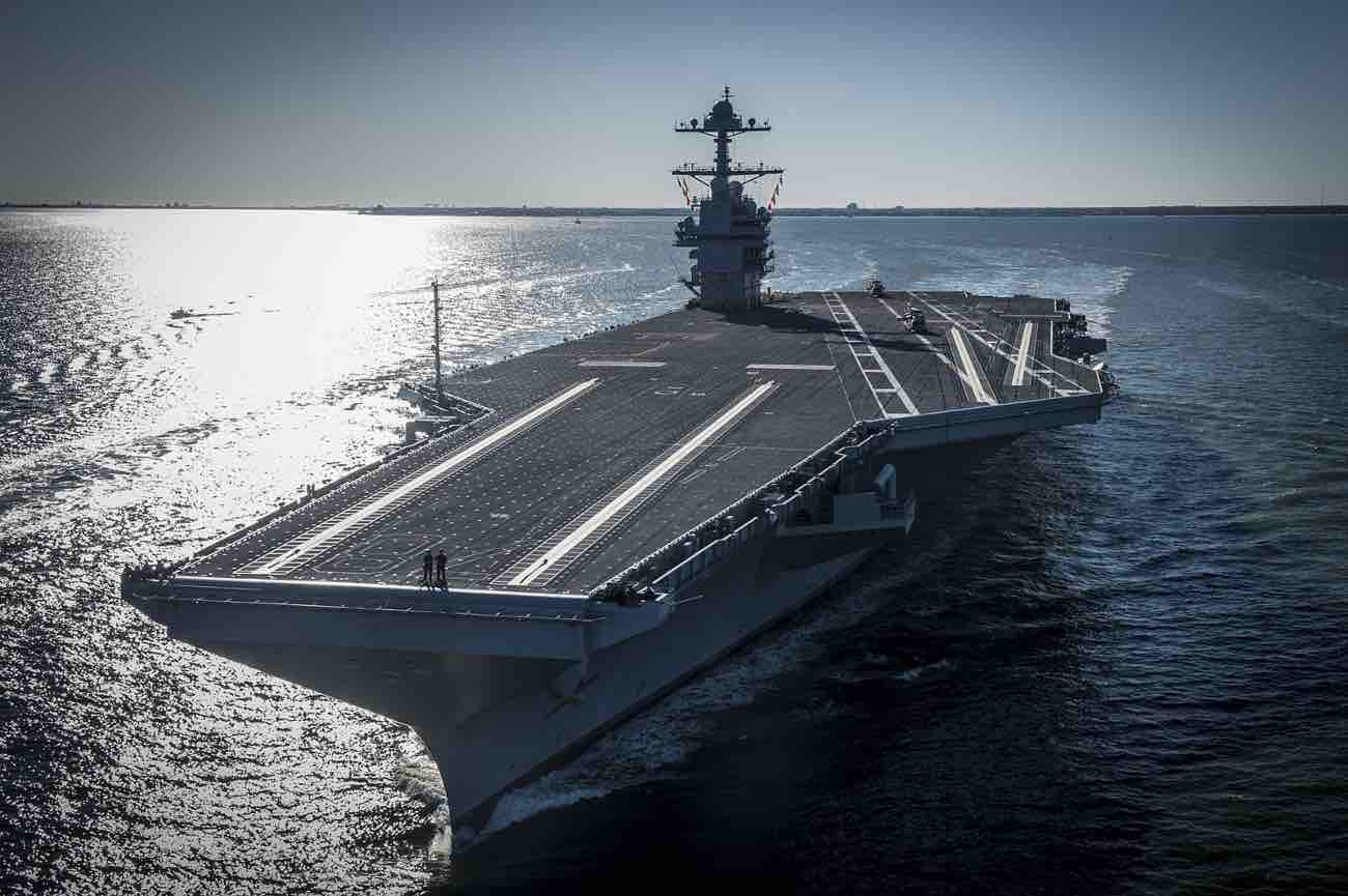 USS Gerald Ford aircraft carrier