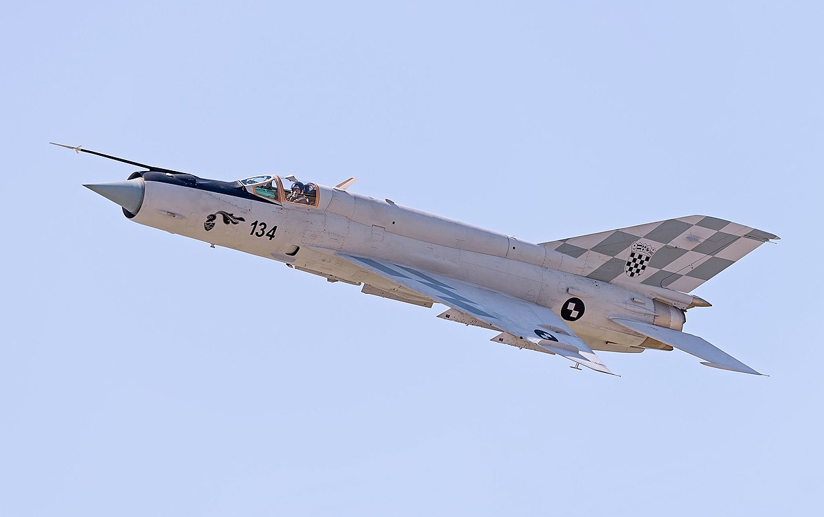most expensive military jets, MiG-21