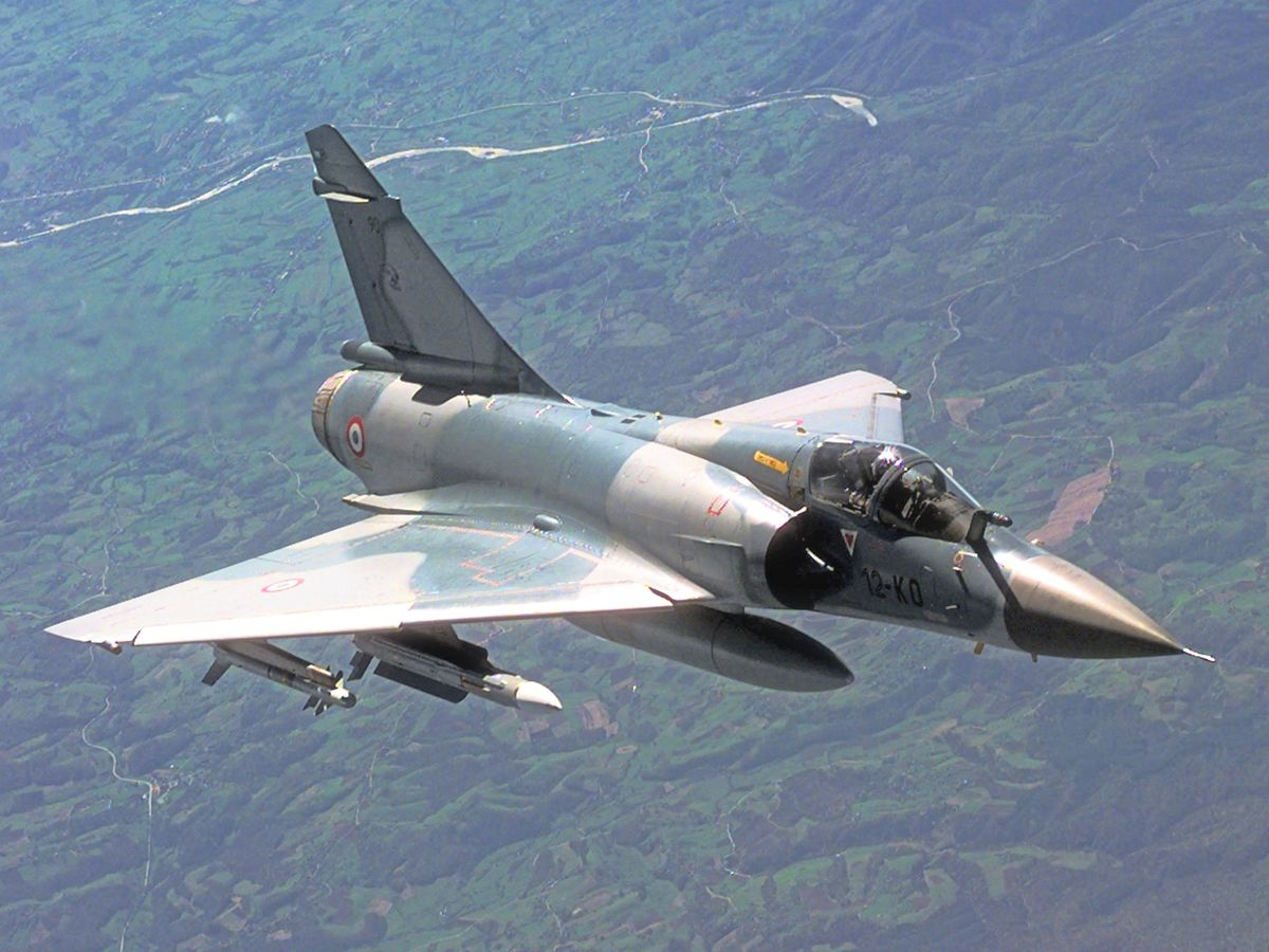 most expensive military jets, Dassault mirage 2000