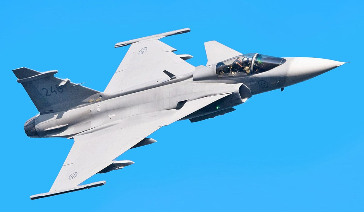 most expensive military jets, Saab JAS 39