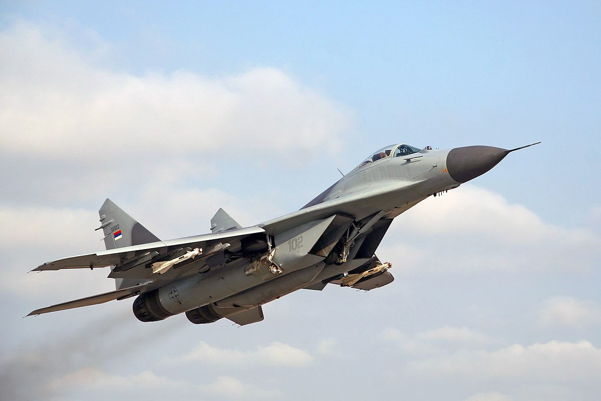 most expensive military jets, MiG-29