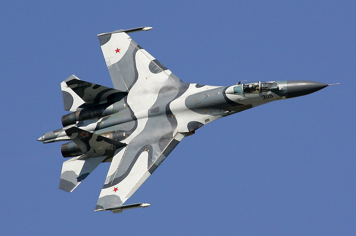 most expensive military jets, Su-27