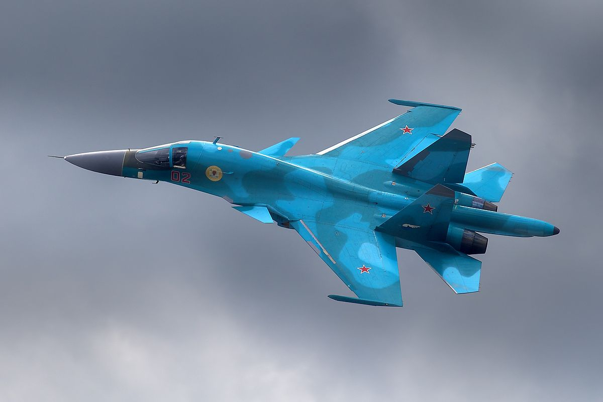 most expensive military jets, Su-34