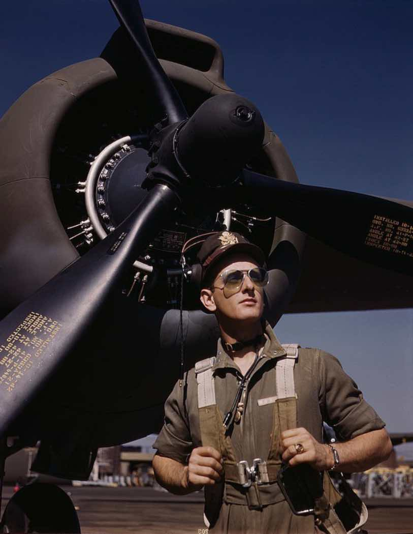 Army pilot Lieutenant Mike Hunter