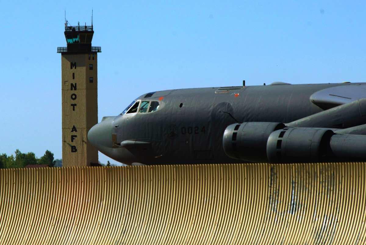 B-52 at Minot AFB