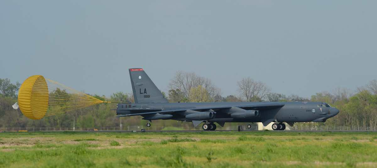B-52 at Barksdale AFB