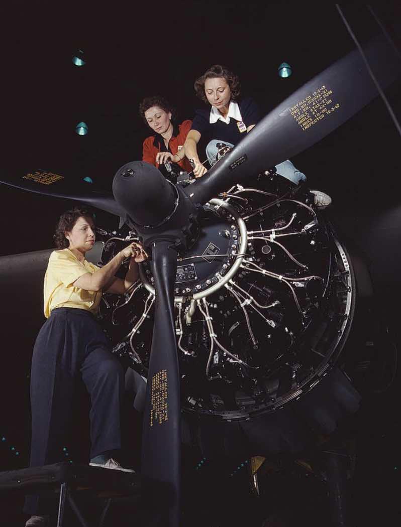 C-47 maintenance