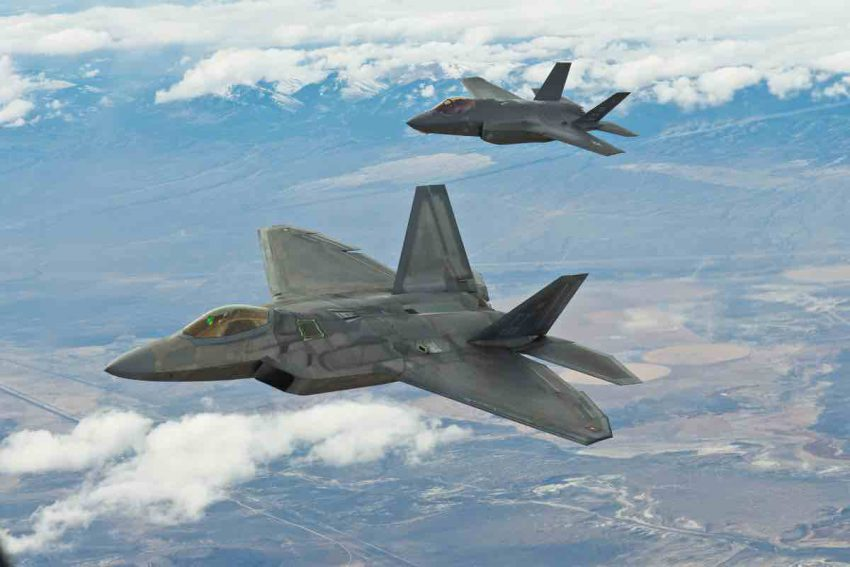 bd473c527ec8 The latest and greatest products of the U.S. Air Force and its contractors  are the F-22 Raptor and the F-35 Lightning II.
