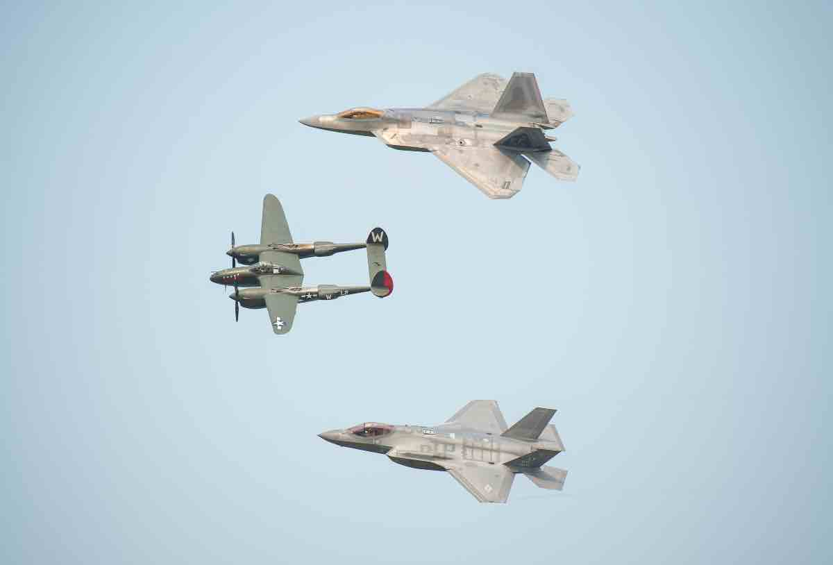 F-22 and F-35 Size