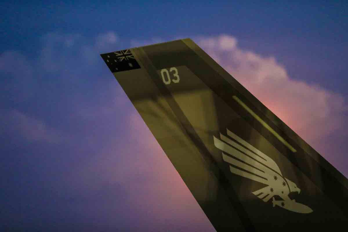 F-35 Australian tail