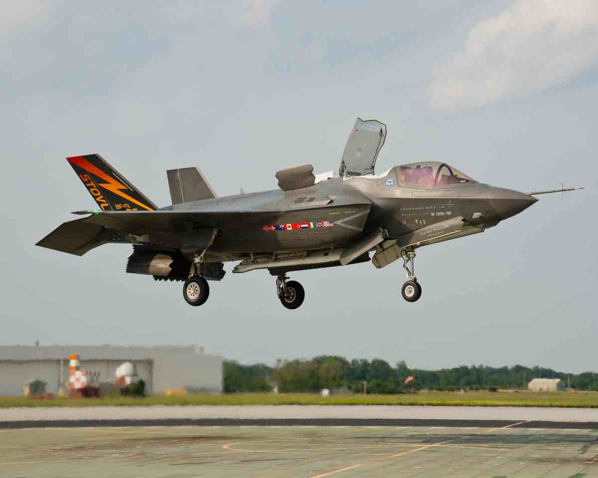 most expensive military jets, F-35B STOVL