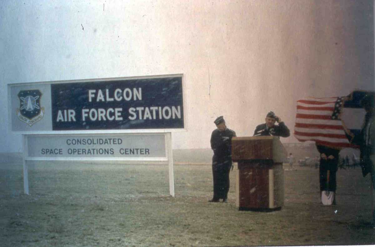 Falcon AFS, now Schriever AFB