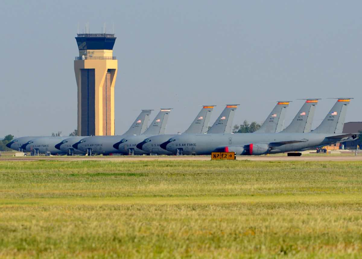KC-135 at Altus AFB