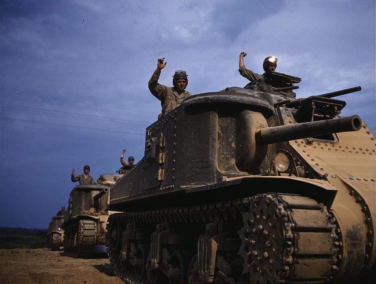 M3 tanks