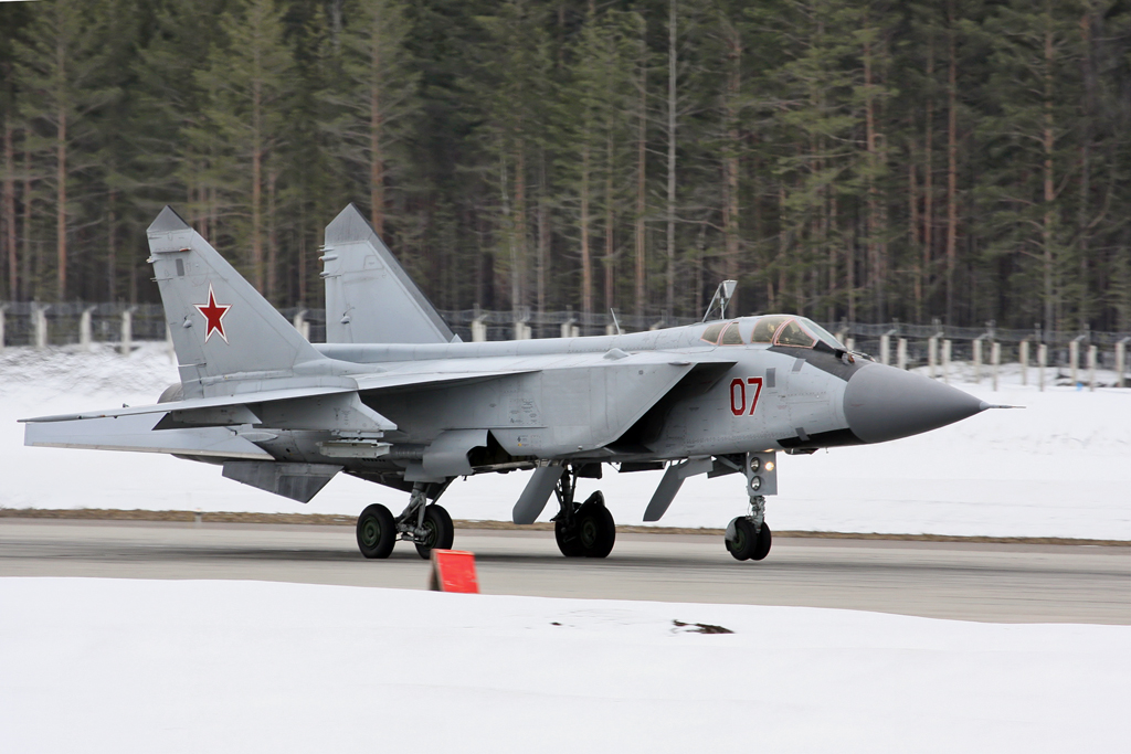 most expensive military jets, MiG-31