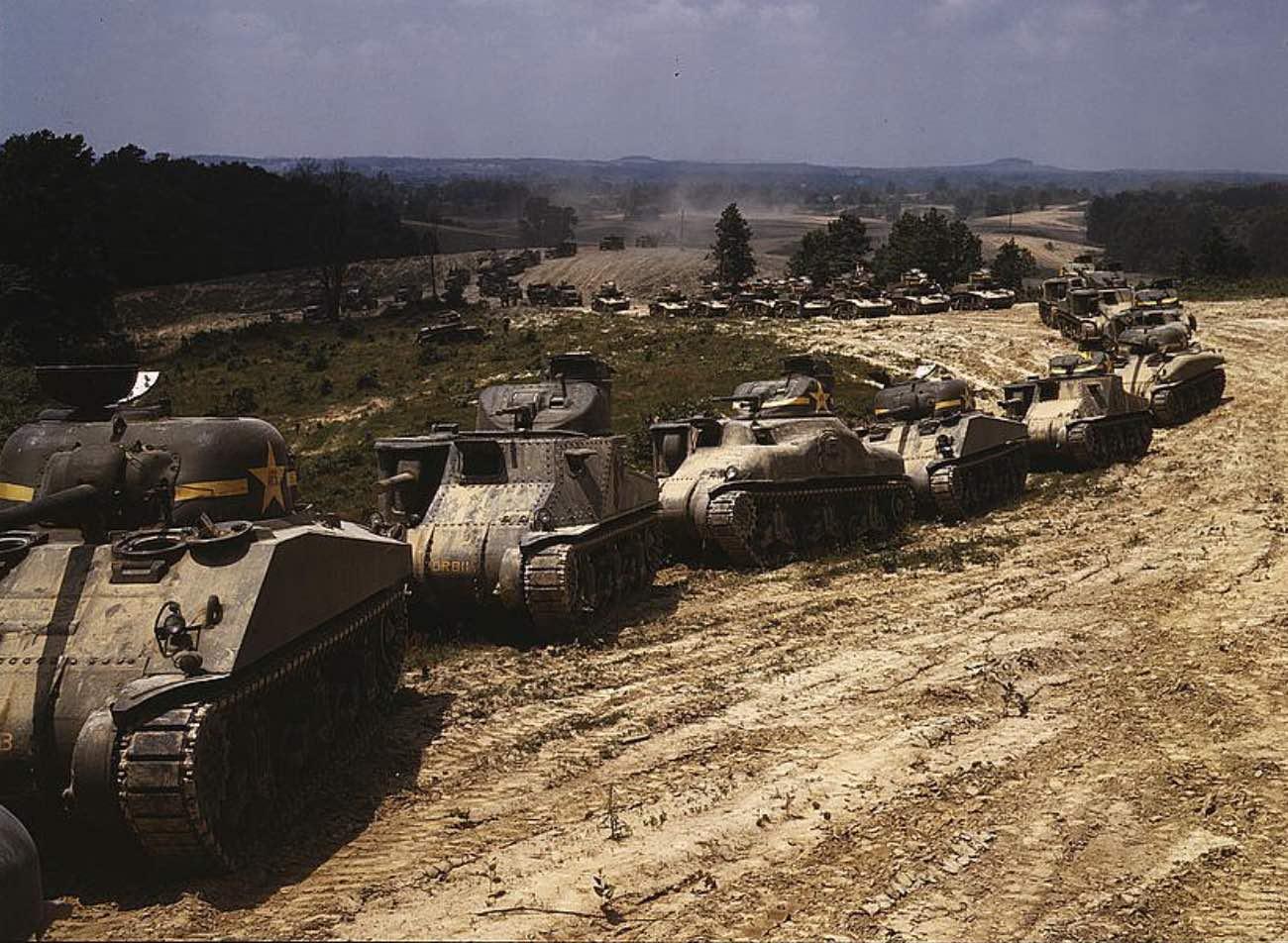 Tanks at Fort Knox, KY,