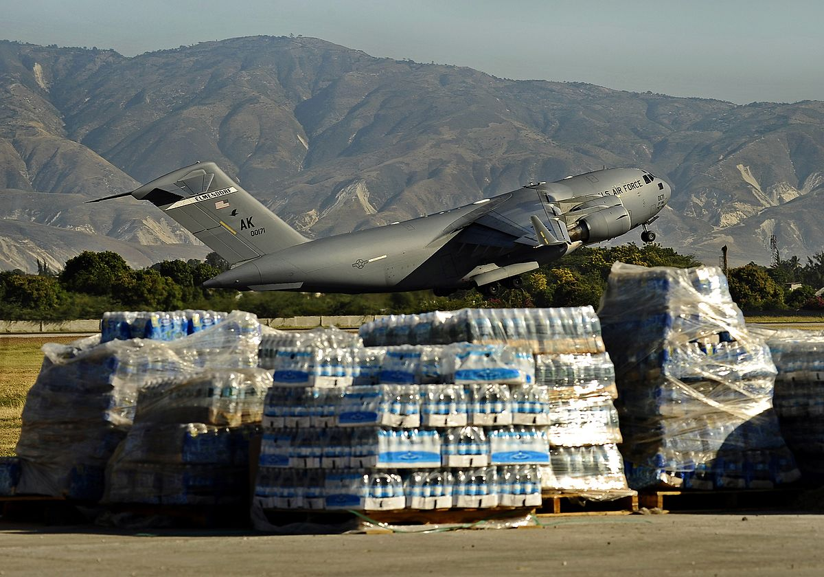 Humanitarian Mission, C-17 Facts