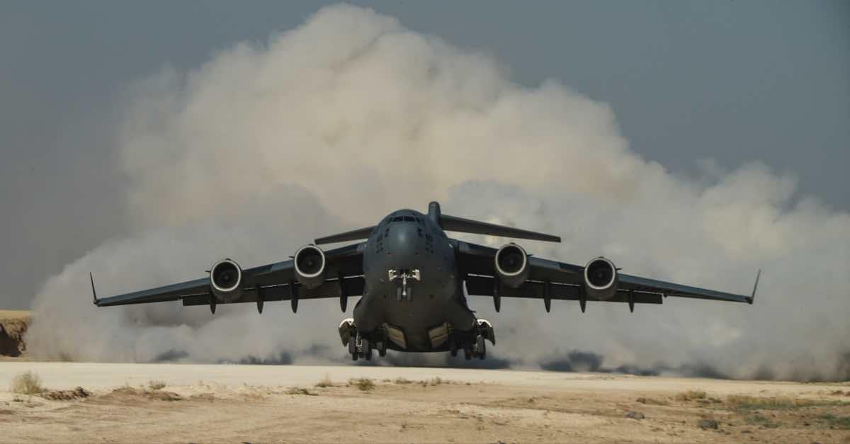C-17 delivery, C-17 vs C-130