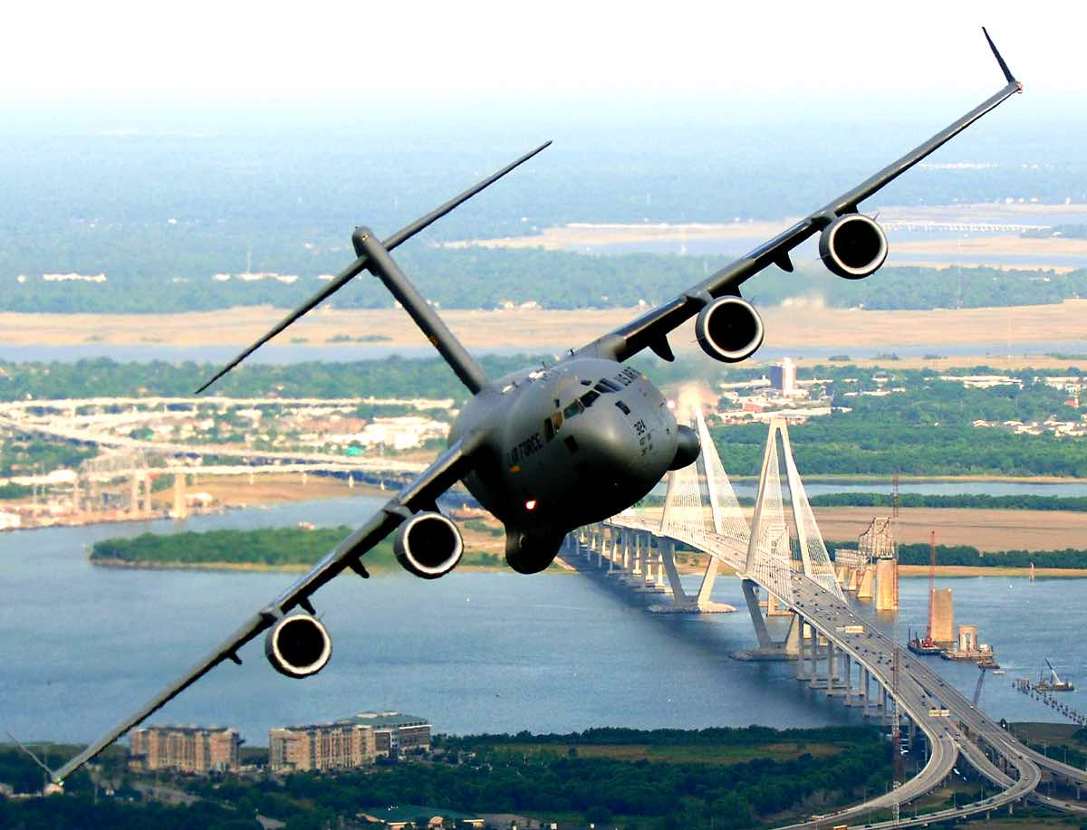 C-17 from JB Charleston, C-17 Facts