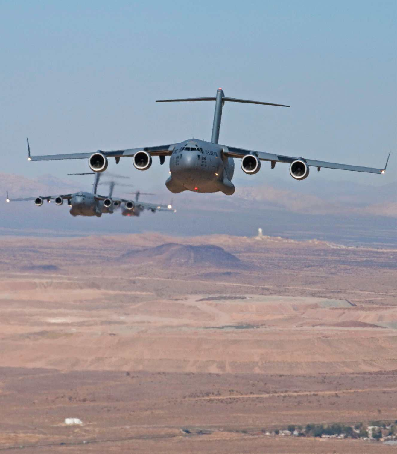 C-17 wingspan, C-17 Facts
