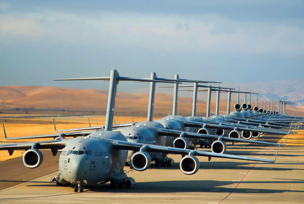 Freedom Launch at Travis AFB, C-17 Facts