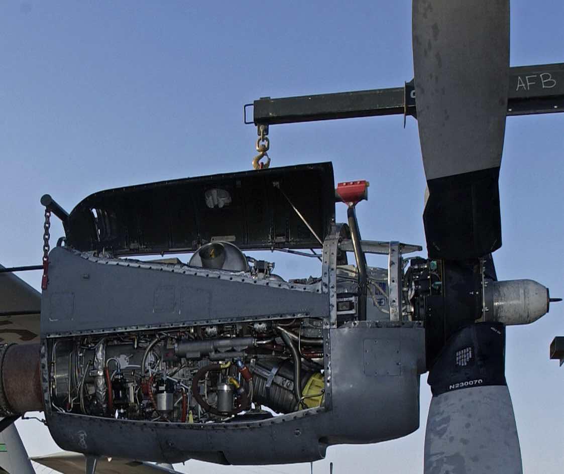 T56 Engine in C-130