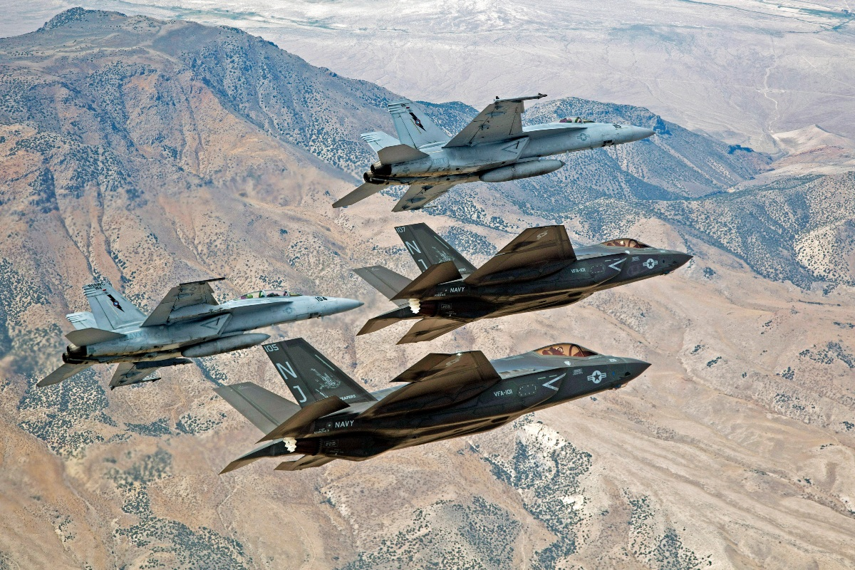 F-35 and F_A-18
