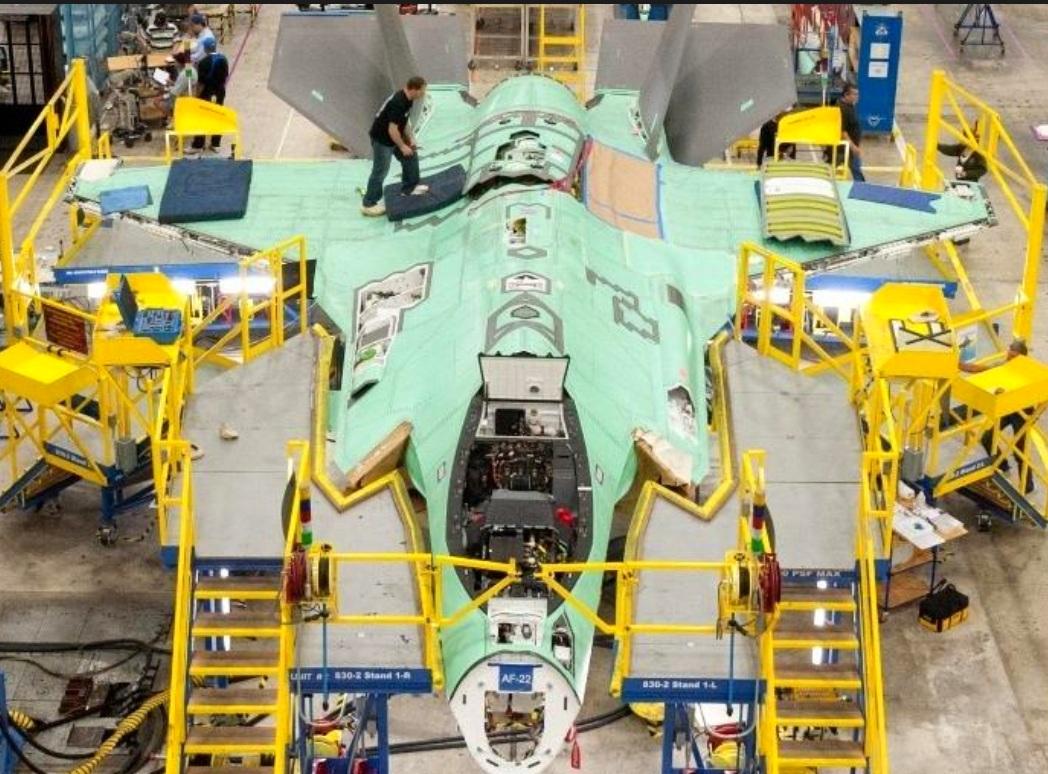 F-35 production plant