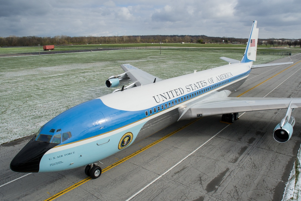 VC-137C used for Presidential Support