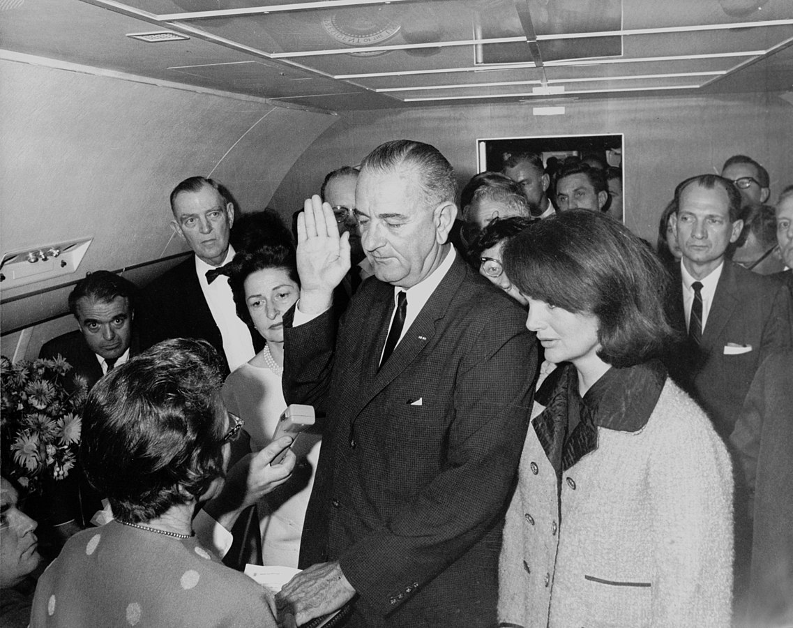 Air Force One facts, Lyndon B. Johnson