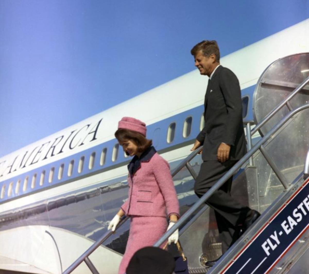 Air Force One facts, Jackie Kennedy