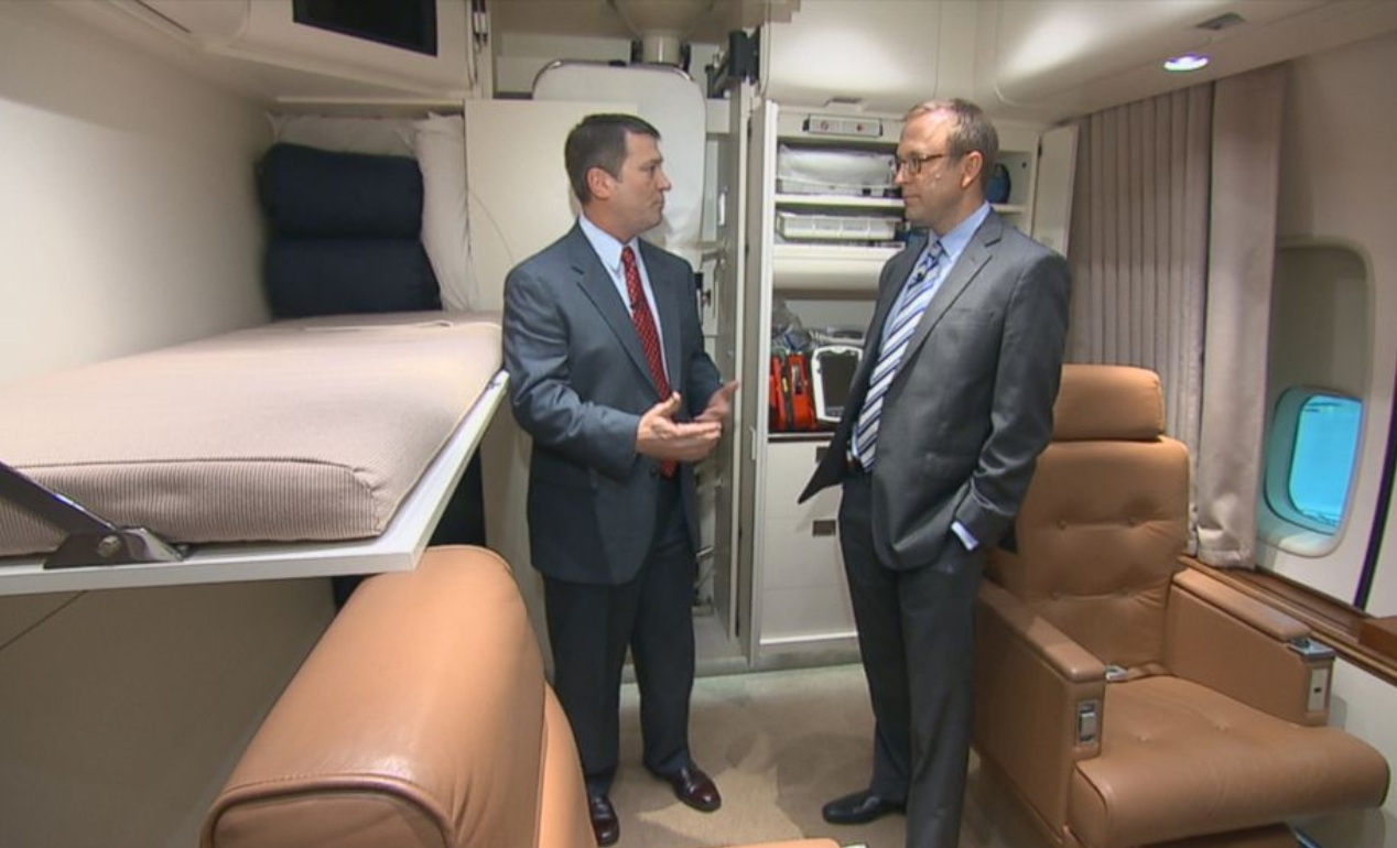 Air Force One facts, medical suite