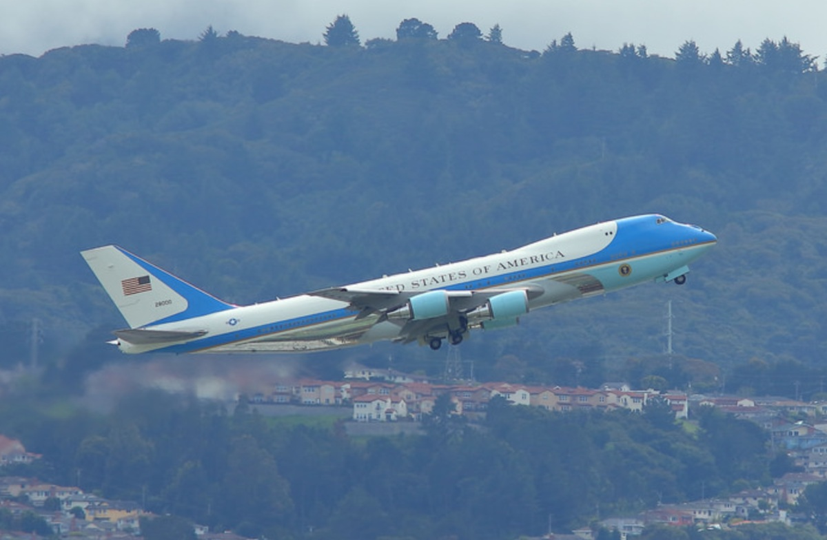 Air Force One facts, sound