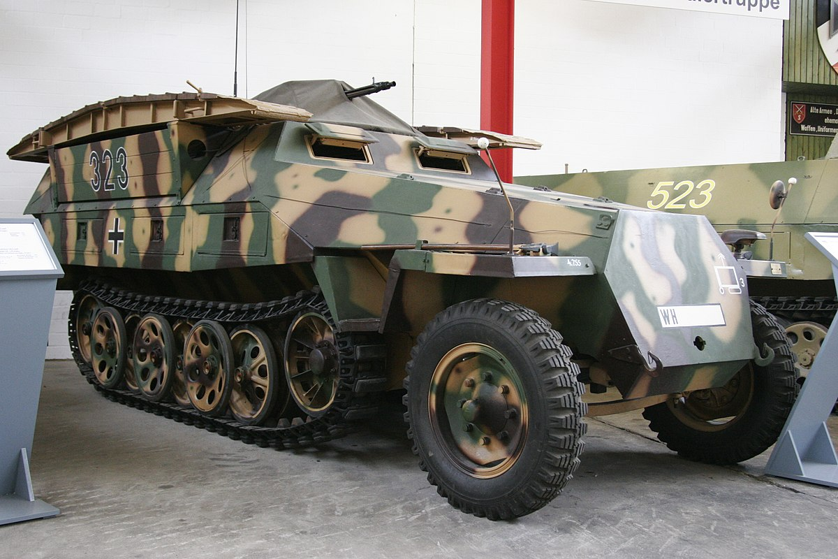 Sd.Kfz. 251, military tanks for sale to civilians